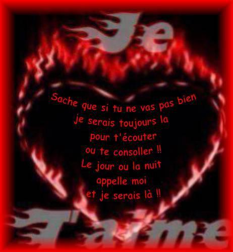 trés beau texte d'amour